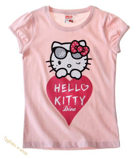 Triko Hello Kitty s brýlemi