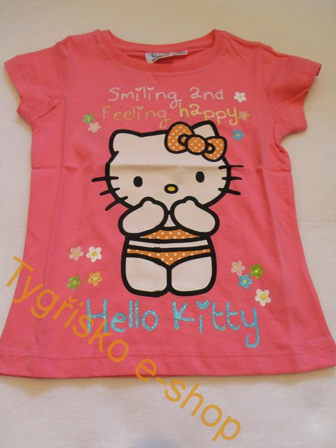 Triko Hello Kitty malinové