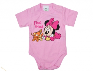 Body Disney Minnie Baby a koťátko
