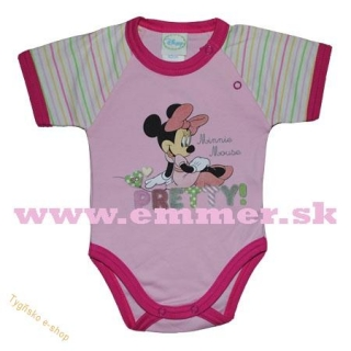 Dívčí body Minnie Disney vel.68